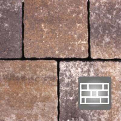 Pavaj Appia Antica Rosu Vulcanic Combi