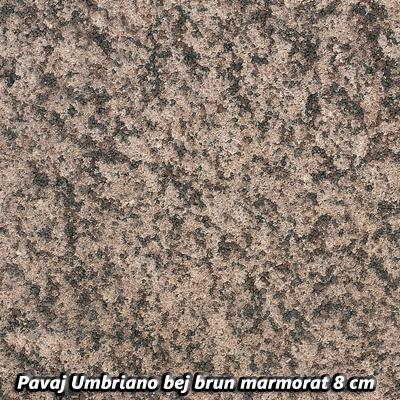 Pavaj Umbriano bej brun marmorat